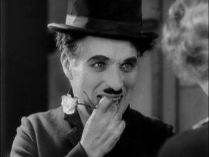 Luced de la ciudad. Charles Chaplin. Cine, fotografía.