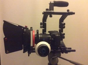 Vídeo cine cámara look