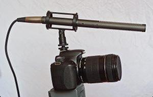 Micrófono, cine, cortometraje