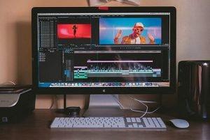 Ordenador, cortometraje, cine vídeo