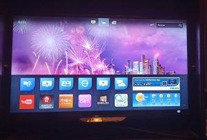 Proyección vídeo cine proyector televisor smart tv