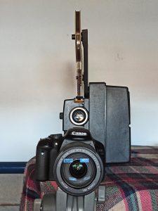 Proyector y cámara