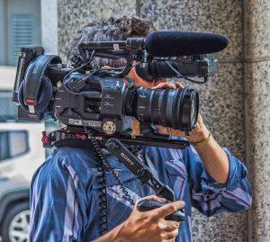 cámara vídeo hombro shoulder camera